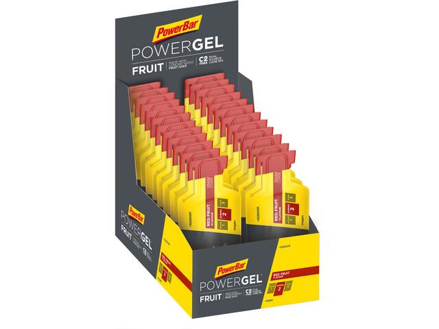 PowerBar PowerGel Fruit Box 24x41g Red Fruit